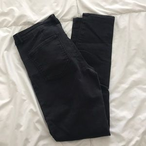 Zara black washed pants